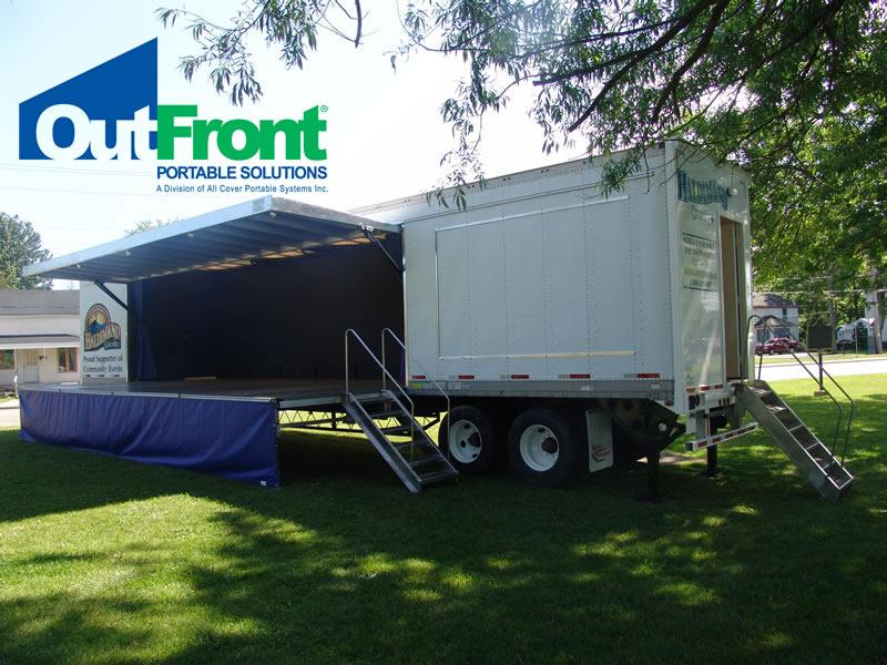 Mobile Stage Setup