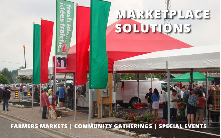 Marketplace Solutions: Farmers Markets, Community Gatherings, Special Events