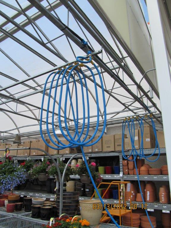 Overhead Festoon Watering System Outfront Portable Solutions