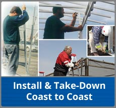 Install and Take-Down, Coast to Coasst