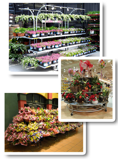 Floral Merchandising Displays