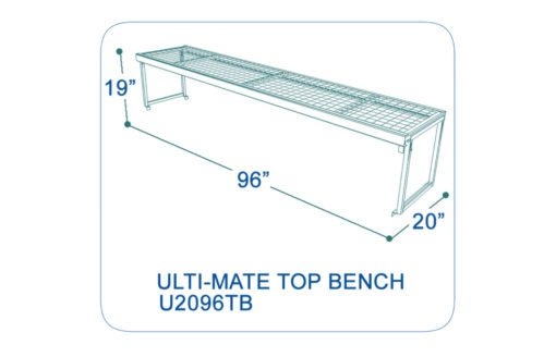 UltimateShelving-U2096TB-dimensions