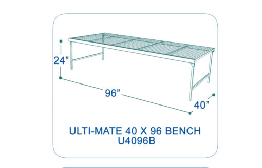 UltimateShelving-U4096B-dimensions