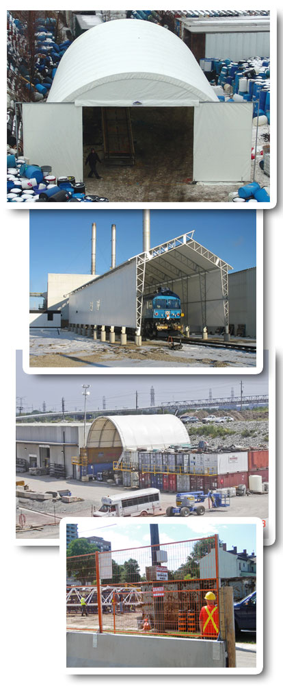Industrial Fabric Buildings and Fencing
