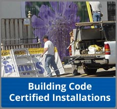 Building Code Certified Installations